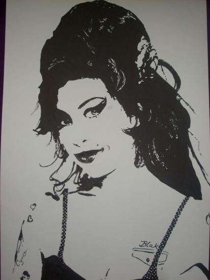 Amy Winehouse by HelenaFan